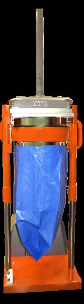 Orwak 5030 hoisted bag application