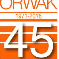 Orwak_45_year_logotype