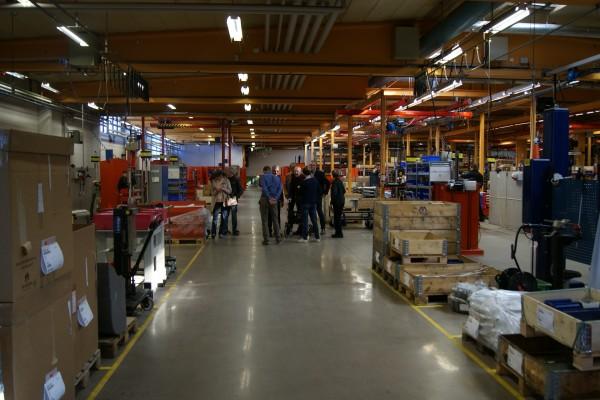 Rundvandring i fabriken