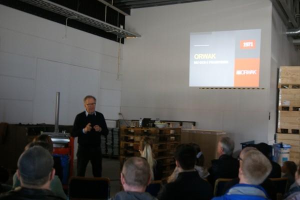 Presentation: Orwaks historia