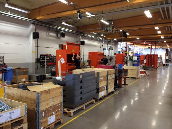 3820 assembly line