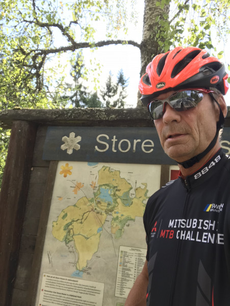 Anders Lorentzson, Orwak, a seasoned cyclist and a member of Team Rynkeby 2019, will ride to Paris for the benefit of children with cancer.