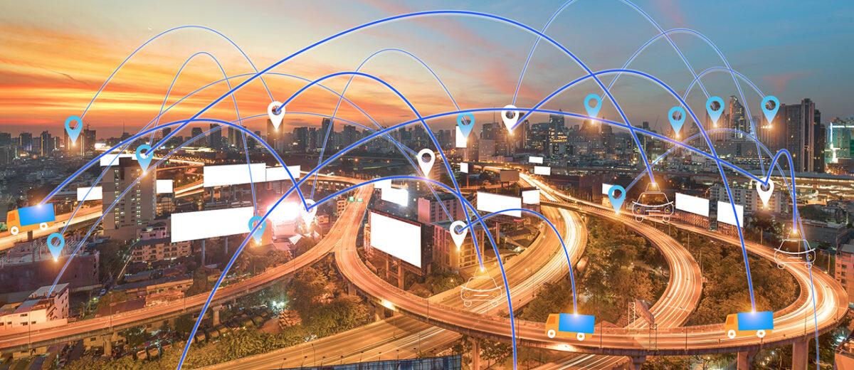 Technology GPS transport