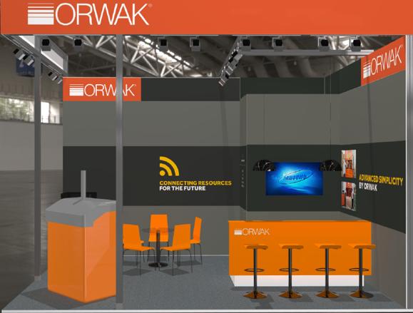 EuroShop Orwak stand